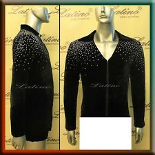 MEN'S LATIN SALSA (BALLROOM) COMPETITION SHIRT SIZE S, M, L (B227)