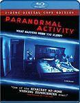 Paranormal Activity (Blu-ray Disc, 2009, Single Disc; no digital copy)