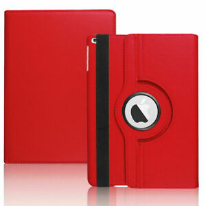 Leather Rotating Stand Case Cover For iPad 8th 7 6 5 4 3 2 Gen Pro 11 Air 2 Mini