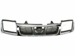 For 1998-2000 Nissan Frontier Grille Assembly 88346BS 1999 GRILLE; CHROME/GRAY