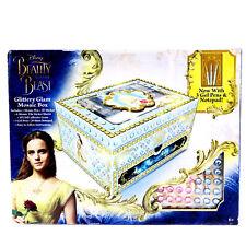 Beauty and the Beast Glittery Glam Mosaic Box Jewelry Rhinestones Craft Toys 6+