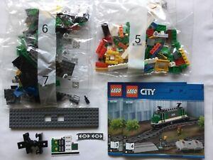 LEGO 60198 Locomotive (sans batterie et moteur) Neuf.Sachets scellés..