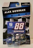 2019 Alex Bowman #88 Nationwide Patriotic Wave 9 Nascar Authentics Chevrolet
