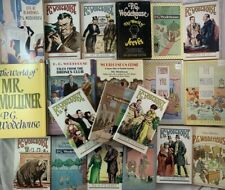 Arthur P.G. Wodehouse Large Book Lot Paperbacks and Hardcovers