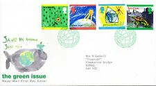 1992 Sg 1629/1632 Green Issue. Protection of the Environment First Day Cover