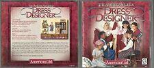 THE AMERICAN GIRLS DRESS DESIGNER CD-ROM E FOR EVERYONE WINDOWS 95 & 98   #20