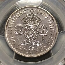 1937 UK Great Britain Silver Proof Florin Coin  PCGS PR64