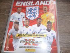 PANINI ADRENALYN ENGLAND 2016.......126 CARD SET IN ALBUM