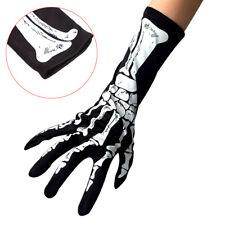 Halloween Long Arm Skeleton Gloves Short Gloves  Halloween Costume Cosplay Pa '.