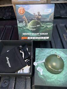 Deeper Smart Sonar Chirp Castable Wifi Fish Finder Kayak Bundle Ice Fishing New