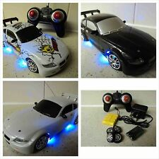 Bmw Z4 Coupe Estilo Coche De Control Remoto Recargable Drift Rc Car 4wd 1/24