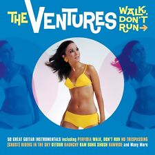 The Ventures WALK DON'T RUN Best Of 50 Great Guitar Instrumentals NEW 2 CD