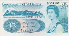 More details for p11a saint helena 1998 five pounds banknote in near mint condition