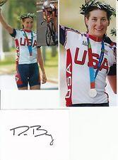 Deirdre Demet-Barry: Olympia 2004 Silber Radsport Zeitfahren USA