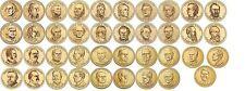 More details for full 2007-2016 us unc presidential dollar coin set