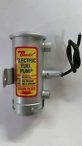 Porsche 356,911,Ferrari Dino,365 GTC/4 Bendix style fuel pump in period silver