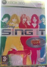 """JEU XBOX 360 """"SING IT"""" (CAMP ROCK) Ta Musique, Ta Voix, Ta Scène DISNEY NEUF"""