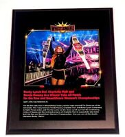 WWE BECKY LYNCH OFFICIAL LICENSED WRESTLEMANIA 35 10X13 PLAQUE VERY RARE
