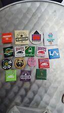 Vintage Roots Athletics au coton Pinback Button Pin lot