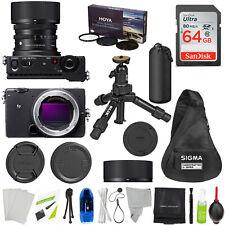 Sigma fp Full-Frame Mirrorless Digital Camera w 45mm w/ PREMIUM Accessory Bundle