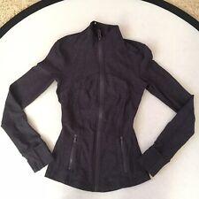 Lululemon Women's Junior Jacket Top Zipper Long Sleeve Pockets