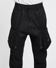 New $250 Black NikeLab ACG Men's Cargo Pants loose Fit AQ3524-010 Large