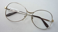 Large Omabrille Vintage-Metallgestell Silver-Gold Frames without Glass Size M
