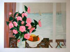 CARSUZAN Jean Claude- Lithographie signée - Bouquet de..