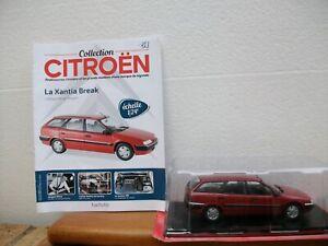 Collection Citroën N°51 Citroën Xantia Break au 1/24 avec son livret
