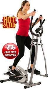 Elliptical Exercise Machine Trainer Gym Workout Equipment Cardio Home Digital