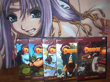 Dragon Hunters - Vol 1,2,3,4,5 - Complete Collection BRAND NEW Anime DVD Geneon