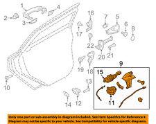 FORD OEM 15-16 Focus Rear Door-Lock Actuator Motor F1EZ58264A26A