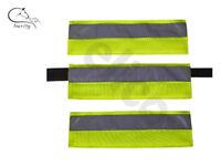 Aurora Bridle Headcollar Sleeves Set 3 HI Vis Fluorescent Yellow SAFETY FREE P&P