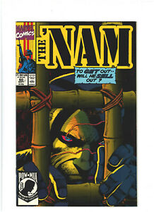 The 'Nam #60 VF/NM 9.0 Marvel Comics Vietnam War 1991