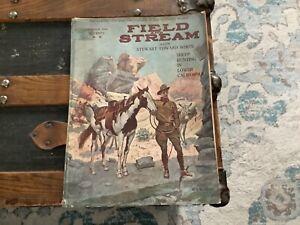 Oct 1919 Field Stream Magazine Vintage Hunting Fishing Sheep Bass Musky Turkey