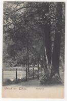 Gruss Aus Libau Stadtpark Liepaja Latvia Vintage U/B Postcard US116