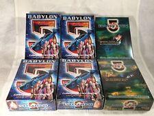 Babylon 5 Premiere CCG Game - All (6) Starter Decks Narn Centauri Minbari Earth