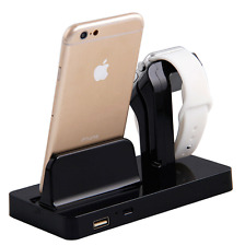 Charging Dock Stand Station Charger Holder for Apple Watch iWatch iPhone 6 7 8