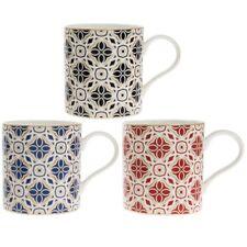 Set di 3 Marrakech Cina Fine Tazza da caffè caldo geometrica MOKA Cappuccino tazze da tè