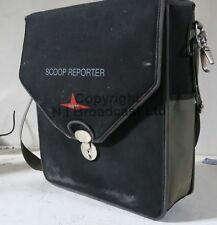 Scoop reporter portable telephone unit (for reporters etc usually)