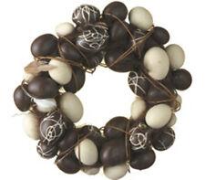 Chocolate Cream Easter Egg Eggs Grapevine Wreath 8' NWT