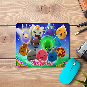 Slime Rancher Mouse Pad Non-Slip Computer Gaming Laptop PC Tabby Gold Game New