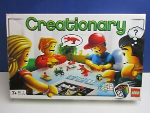 COMPLETE lego 3844 CREATIONARY BOARD GAME SET kids family genuine 77R