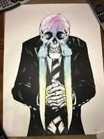 """Alex Pardee """"The Walrus, White"""" Artist Proof Signed"""