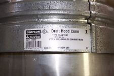 "Draft Hood Connector 12"" Diameter Type B"