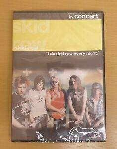 SKID ROW - In Concert New and Sealed Free Postage