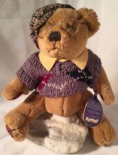 Teddy Bear Sherwood Brass Button Collection 1996 Pickford 9982301 Nerd