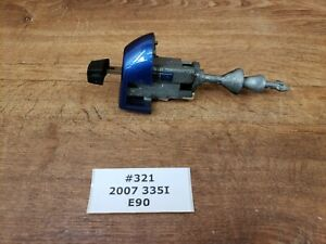 ✅ 06-11 OEM BMW E90 E91 Left Driver Door Lock Key Cylinder Mechanism Blue A51