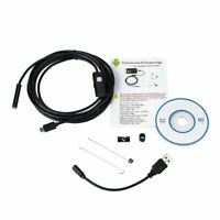 Mini 6 LED USB Endoscope Inspection Camera HD Borescope 3in1 Waterproof IP67