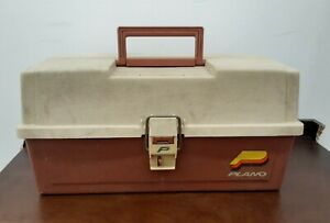 Vintage Plano # 6303 Three Tray Tackle Box Made in USA Fishing